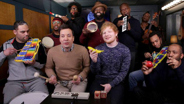 Así suena el 'Shape of You' de Ed Sheeran usando solo instrumentos escolares [VIDEO]