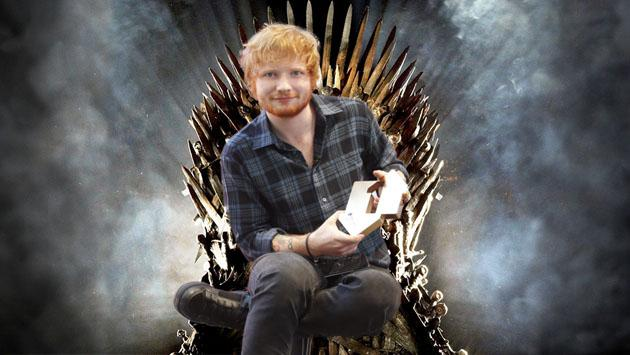 Ed Sheeran habla de su papel en 'Game of Thrones'