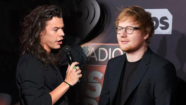 ¿Ed Sheeran, la mente detrás del primer álbum de Harry Styles?