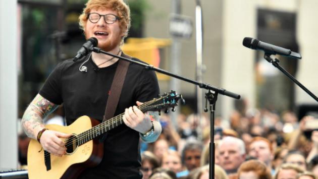Ed Sheeran recibe respaldo de Lady Gaga luego de ser criticado en Twitter