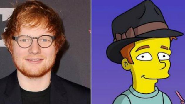 Y así es como Ed Sheeran participará en un episodio especial de 'The Simpsons'