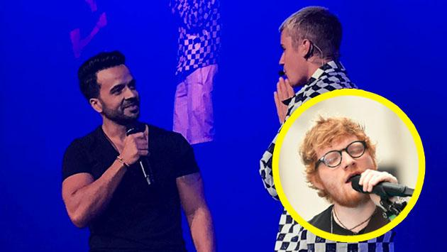 Ed Sheeran tiene fuertes razones para detestar a 'Despacito', con Justin Bieber