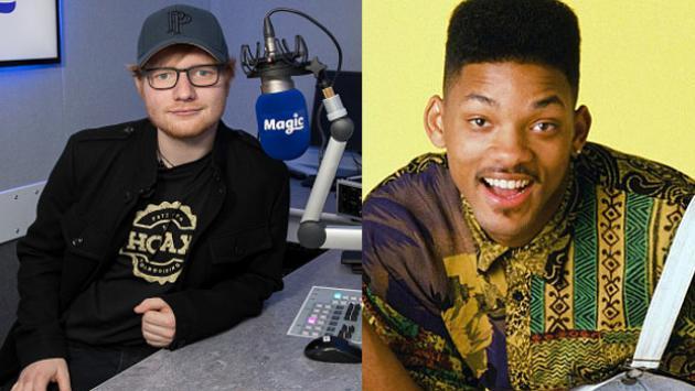 Ed Sheeran tocó intro de El príncipe del rap y no puedes dejar de verlo [VIDEO]