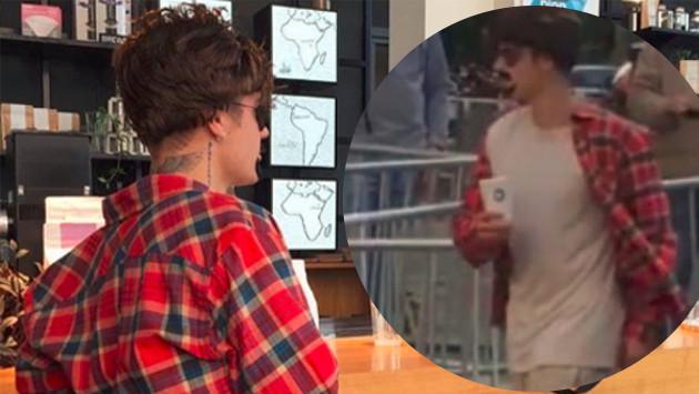 Mira el fallido disfraz de Justin Bieber en Ámsterdam