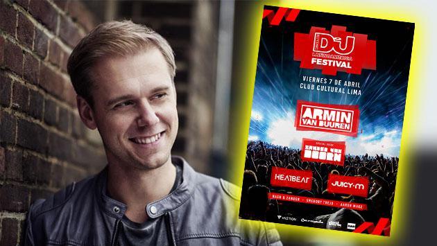 El festival que acogerá a Armin Van Buuren antes de su llegada al Perú para el DJ Mag Festival