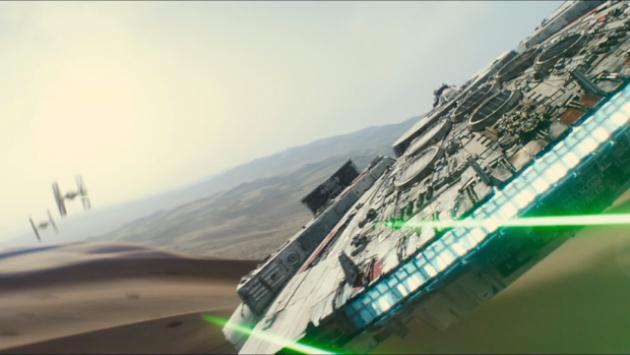 ¡Las primeras fotos del Halcón Milenario en 'Star Wars 8'!
