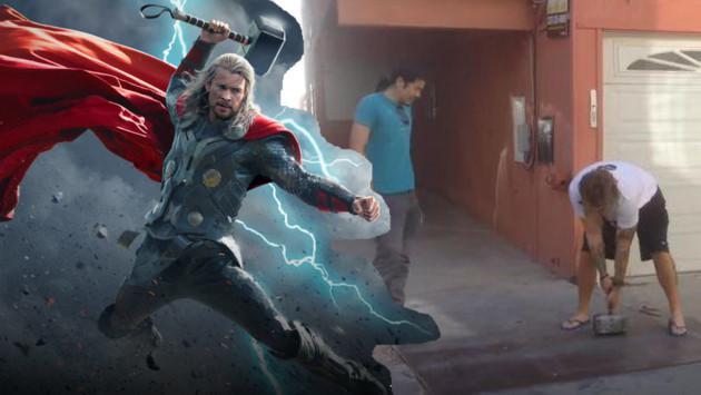 ¡El martillo de Thor es real! Solo una persona lo puede levantar