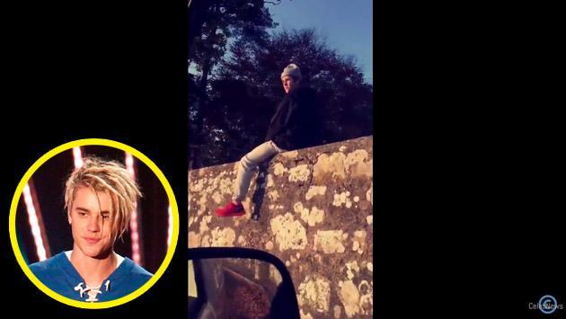 El video de Justin Bieber en Escocia que se volvió viral