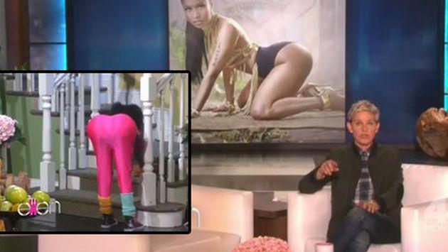 Ellen DeGeneres en problemas por parodia sobre Nicki Minaj. ¡Dicen que es racista!