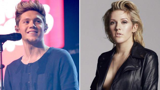 ¡Ellie Goulding y Niall Horan estarían preparando canción!