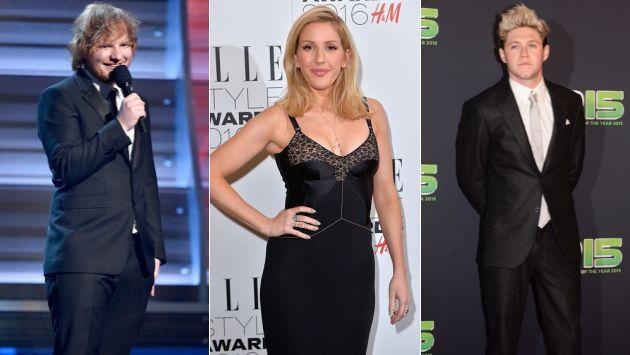 ¡Ellie Goulding aclaró los rumores sobre sus romances con Liam Payne y Ed Sheeran! [FOTO]