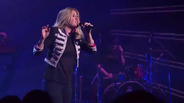 Ellie Goulding presentó su single 'On My Mind' en 'The X Factor Australia' [VIDEO]