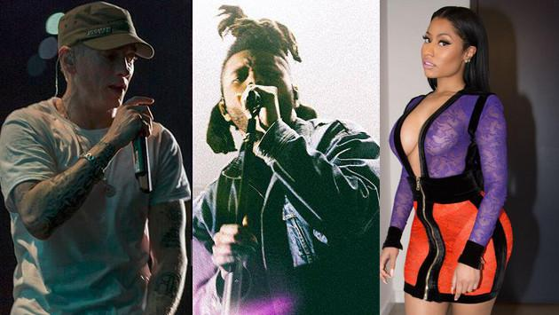Eminem y Nicki Minaj se unen a The Weeknd ¡Checa los remixes de 'The Hills'!