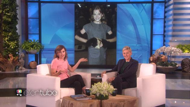 Emma Watson y su reacción al ver sus fotos en la época de 'Harry Potter y la piedra filosofal' [VIDEO]