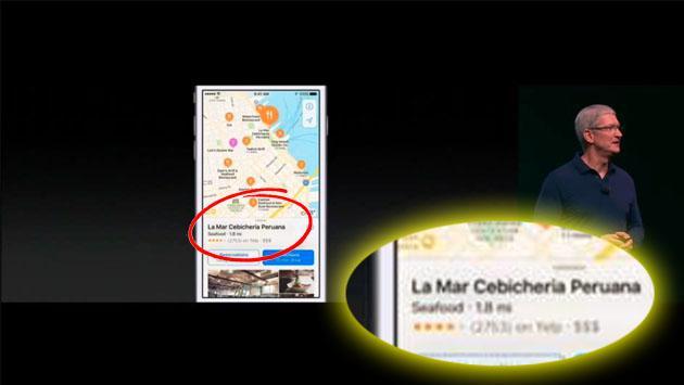 Perú y su gastronomía, presentes en el evento del iPhone 7 [VIDEO]