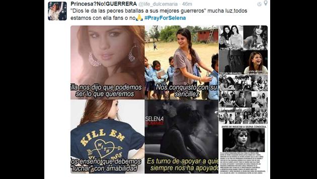 En Twitter piden rezar por Selena Gomez por esta razón