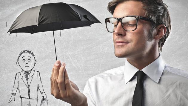¿Qué significa dibujar una persona bajo la lluvia en las entrevistas de trabajo?
