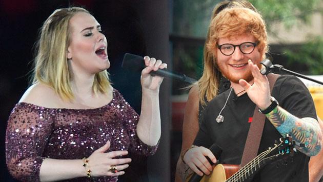 Es por esto que Ed Sheeran es cauto al meterse con Adele