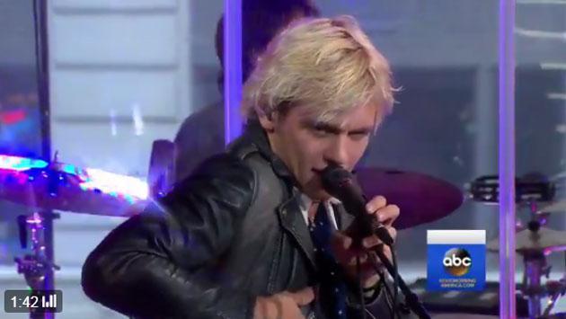 Escucha a R5 tocando 'If' en vivo en 'Good Morning America' [VIDEO]