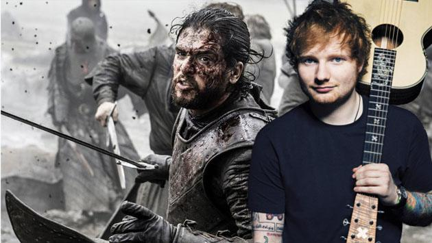 ¿Estás listo para ver a Ed Sheeran en 'Game of Thrones'?