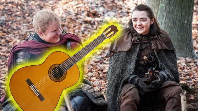 Este es el mashup de Ed Sheeran y 'Game of Thrones' que querías escuchar [VIDEO]