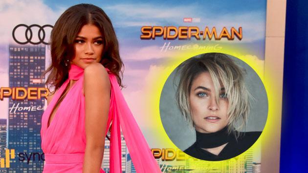 Esto dijo la hija de Michael Jackson sobre Zendaya en 'Spider-Man: Homecoming'