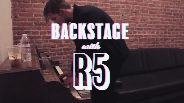 Esto es lo que pasa en el backstage de R5 [VIDEO]