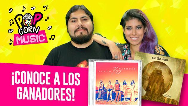 Estos son los ganadores de 2 CD originales gracias a 'Pop Corn Music'