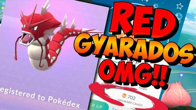 ¿Un truco en 'Pokémon GO' para tener un Gyarados rojo? [VIDEO]