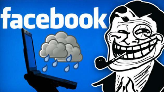 A una amiga le salió este mensaje de Facebook. ¿Lloverá hoy?