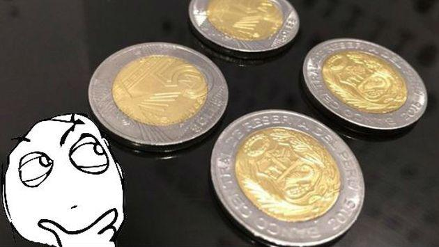 ¿Cómo reconocer una moneda falsa de 5 soles? ¡Checa este video!