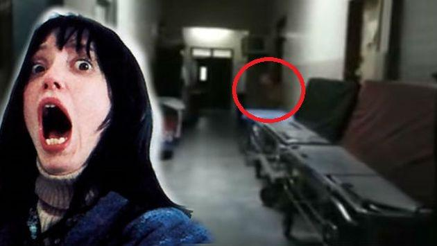 ¿Un fantasma fue captado en un hospital? Checa este video