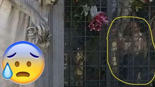 ¿Fantasma fue fotografiado en cementerio? Mira estas imágenes