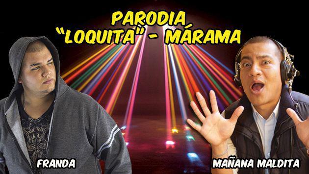 ¡El versus de impro entre Franda y Daniel Marquina en 'Mañana Maldita'! [VIDEO]