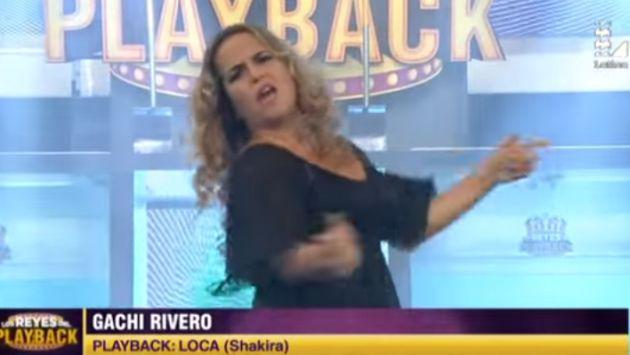 OMG! ¡Gachi Rivero la rompió imitando a Shakira! [VIDEO]