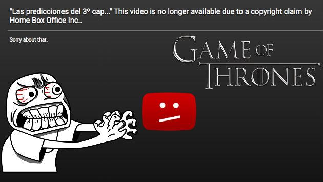 HBO vs Frikidoctor: Todo sobre la pelea entre canal y youtuber spoilero de 'Game of Thrones'