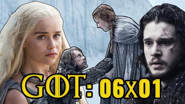 'Game of Thrones' - S06E01 - La Mujer Roja (Reseña)