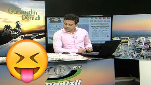 ¡Un gatito interrumpió un noticiero causando esta reacción en periodista! [VIDEO]