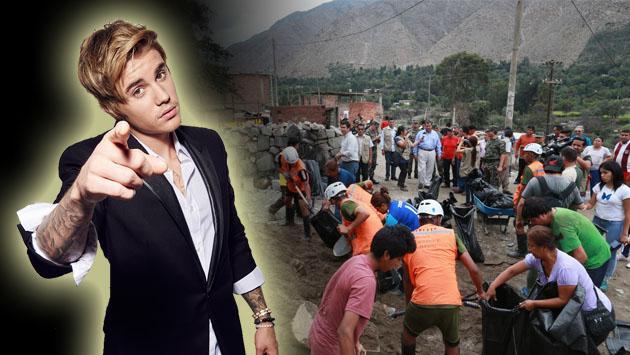 ¡Gracias, Justin Bieber! Mira cuánto donó para los damnificados por inundaciones tras su concierto