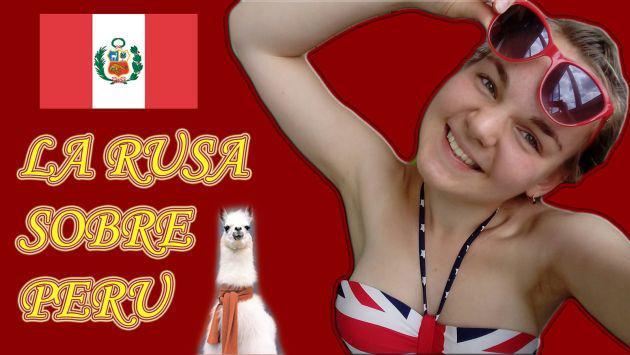 ¡Chica rusa publicó este video lleno de dudas tras conocer Perú!