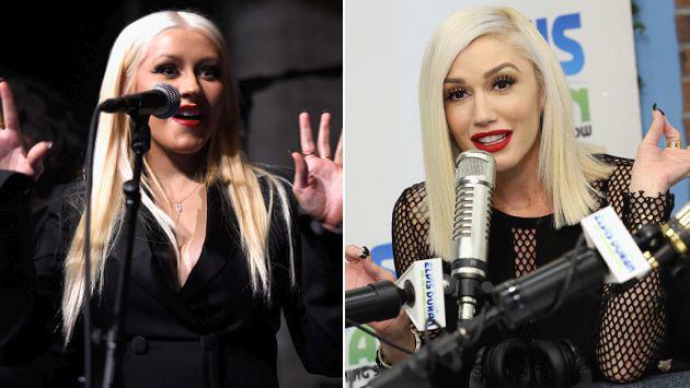 ¡Tensiones entre Gwen Stefani y Christina Aguilera en 'The Voice'!
