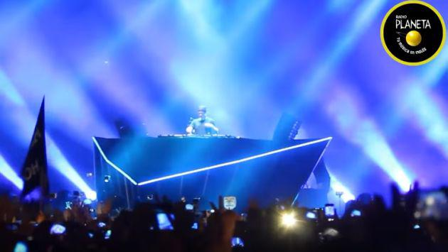 ¡Revive los mejores momentos del concierto de Hardwell! [VIDEOS]