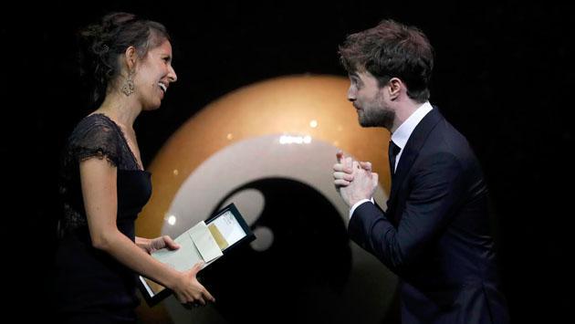 'Harry Potter' entregó premio a documental peruano