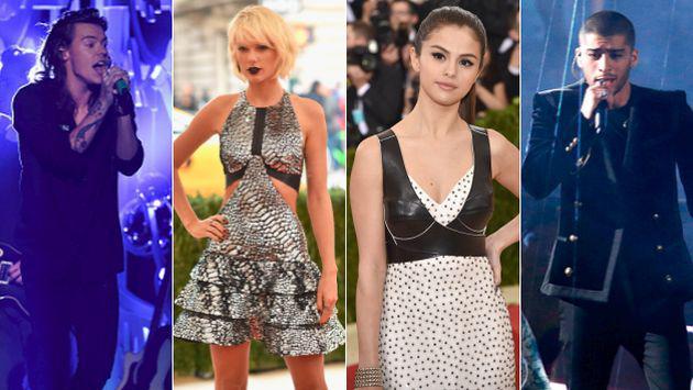 ¿Quién fue el primer amor de Harry Styles, Taylor Swift, Zayn Malik y Selena Gomez?