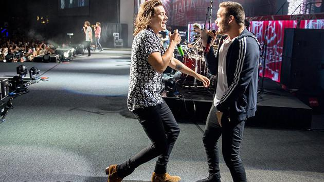 Harry Styles bromea sobre madre de Liam Payne en concierto [VIDEO]