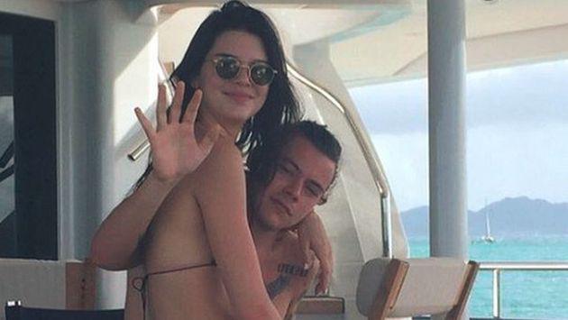 OMG! Kendall Jenner se reencontró con Harry Styles por su cumpleaños