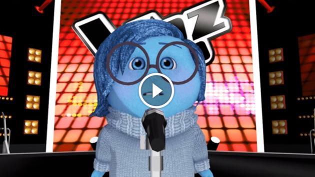 ¡Mira el cover de 'Hello' que hizo Tristeza de 'Intensamente' en La Voz! [VIDEO]