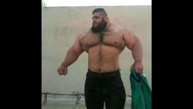 ¡Conoce al 'Hulk' iraní que alborota las redes sociales! [FOTOS]