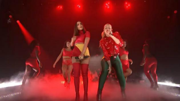 Iggy Azalea presenta 'Switch' en 'The Tonight Show Starring Jimmy Fallon' [FOTOS Y VIDEO]