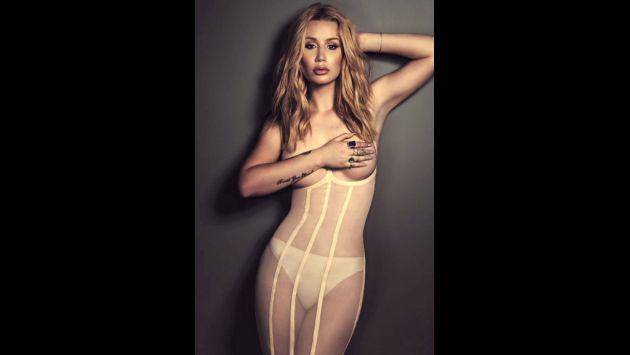 ¡Iggy Azalea hace topless para portada de revista Schön! [FOTOS]